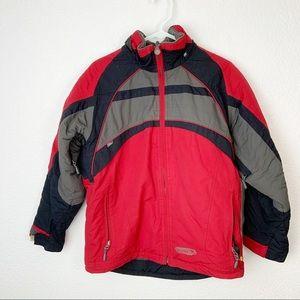 Obermeyer Red Junior's Signal Ski Jacket Coat 16